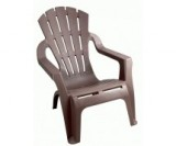 fauteuil empilable selva taupe