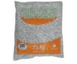 gravillon blanc calcaire 25kg
