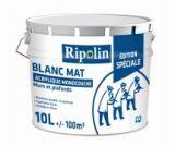 peinture blanche mur/plafond monocouche edition special mat