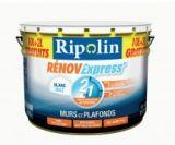 peinture blanche mur/plafond renov express mat 10l20% grat