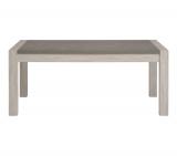table l220 rectangulaire malone checircne gris