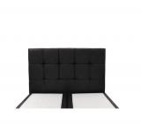 photo SIGNATURE Tête de lit noir 140 cm HARLEY