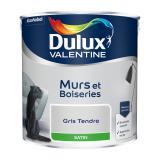 photo Peinture murs et boiseries Dulux Valentine gris tendre satin 2,5L