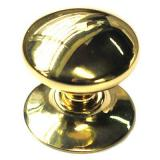 bouton de meuble meacutetal colours scala doreacute brilliant oslash32 mm