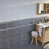 carrelage mur gris effet beacuteton 20 x 60 cm romana