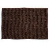 tapis de bain chenille choco 40 x 60 cm