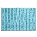 tapis de bain bleu 40 x 60 cm