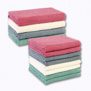 drap de bain ou lot de 2 serviettes de bain bio certifieacute fairtradereg