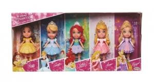 Coffret 5 minis poupées princesses Disney