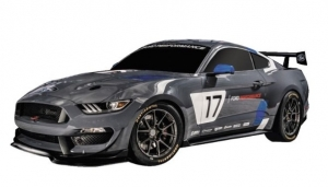 racing ford mustang gt4 radiocommandee 1/10eme 24 ghz