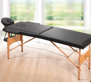 yoghi table de massage pliante tdm102 - noir