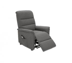 fauteuil relax releveur 2 moteurs kennedy tissu gris fonceacute