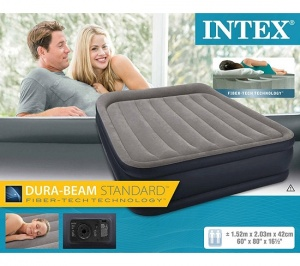 But Promo Intex Matelas Gonflable 2 Places Deluxe 2 New