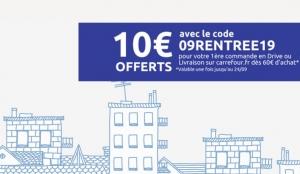 Carrefour Promo 10 Offerts Pour Une Première Commande En