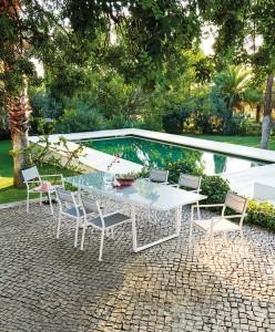 exclusivite ensemble sofia -table de jardin avec allonge