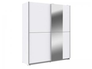 armoire 2 portes coulissantes miroir winner 2