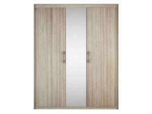 armoire 3 portes 1 miroir austral
