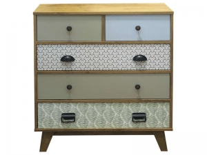 Commode 3+2 tiroirs Octave