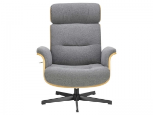 Fauteuil + repose-pieds Seatlle