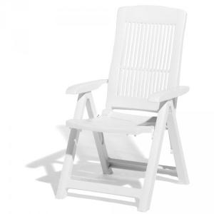 fauteuil de jardin multipositions blanc viva