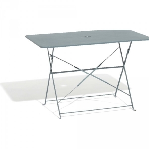 Table Metal Pliante. Great Table Jardin Aluminium Carver Metal ...