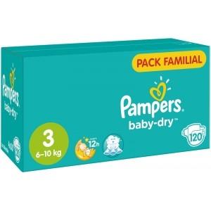 -80% sur le 2eme paquet de couches baby dry pampers