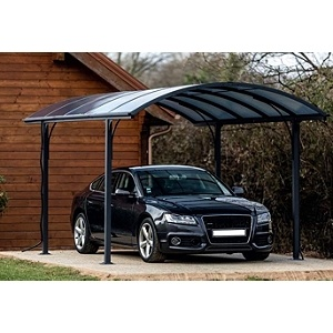 Carport toit arrondi