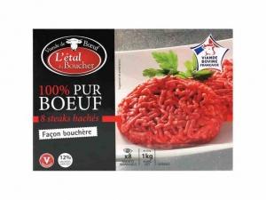 8 steaks haches facon bouchere