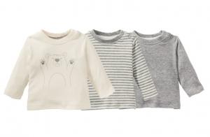 t-shirts manches longues bebe en coton bio