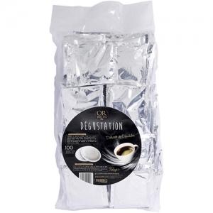100 dosettes souples de cafeacute deacutegustation