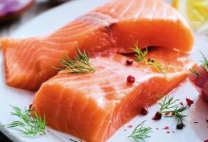 2 paves de saumon atlantique