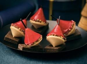 8 bouchees au bloc de foie gras de canard