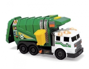 Camion Poubelle Lumineux & Sonore - City Cleaner