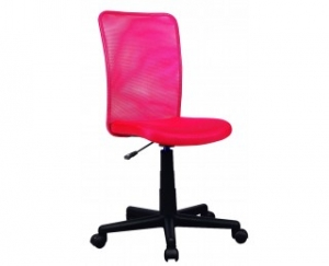 chaise de bureau - tylo - rouge