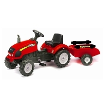Avigo - mighty tractor - tracteur rouge