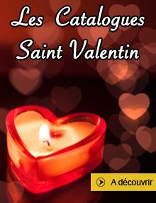 Les catalogues Saint Valentin 2016